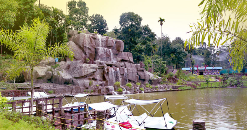 Waterfalls - Theme park in kerala